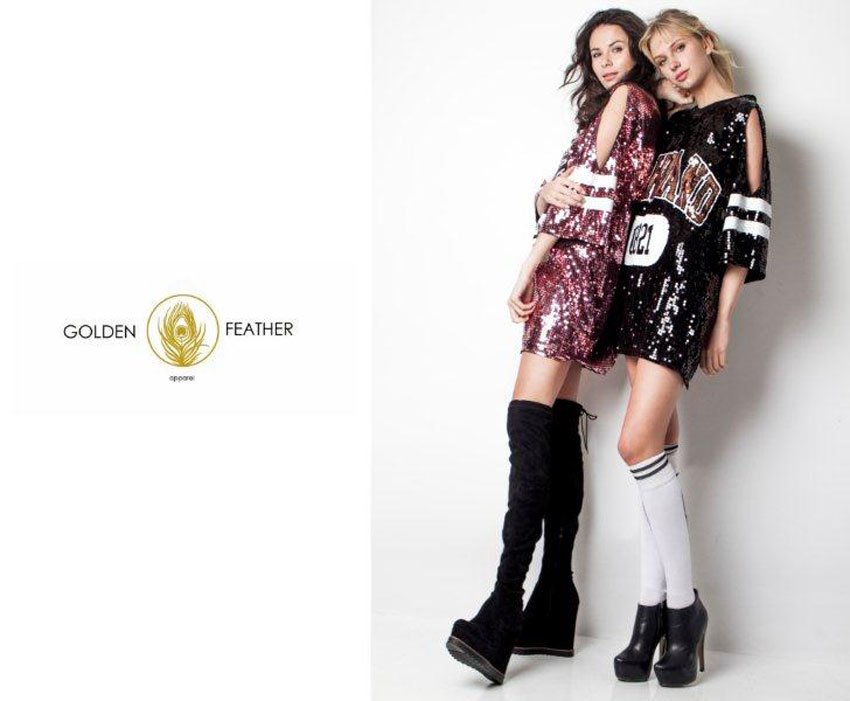 Natalia and Iris rock for Golden Feather!!