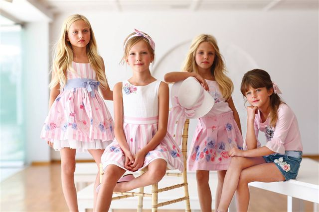 Alexandra,Ariadni,Artemisa and Natalia For International Kids Brand!