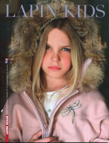 Artemisa On The Cover For Lapin Kids European Magazine!