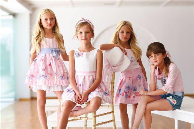 Alexandra,Ariadni,Artemisa and Natalia For International Kids Brand!